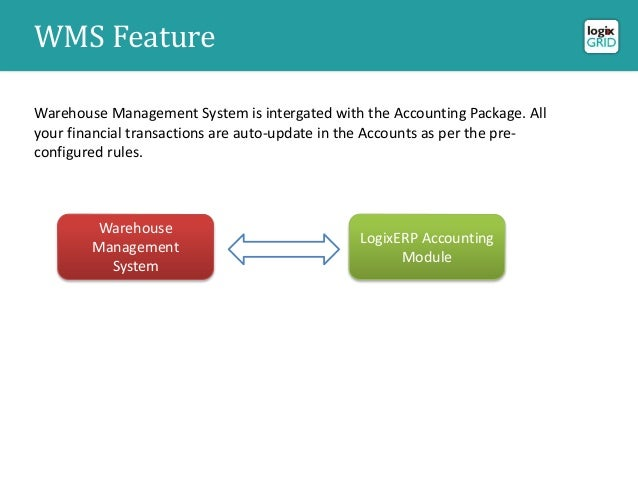 Advance solution for warehouse and inventory management