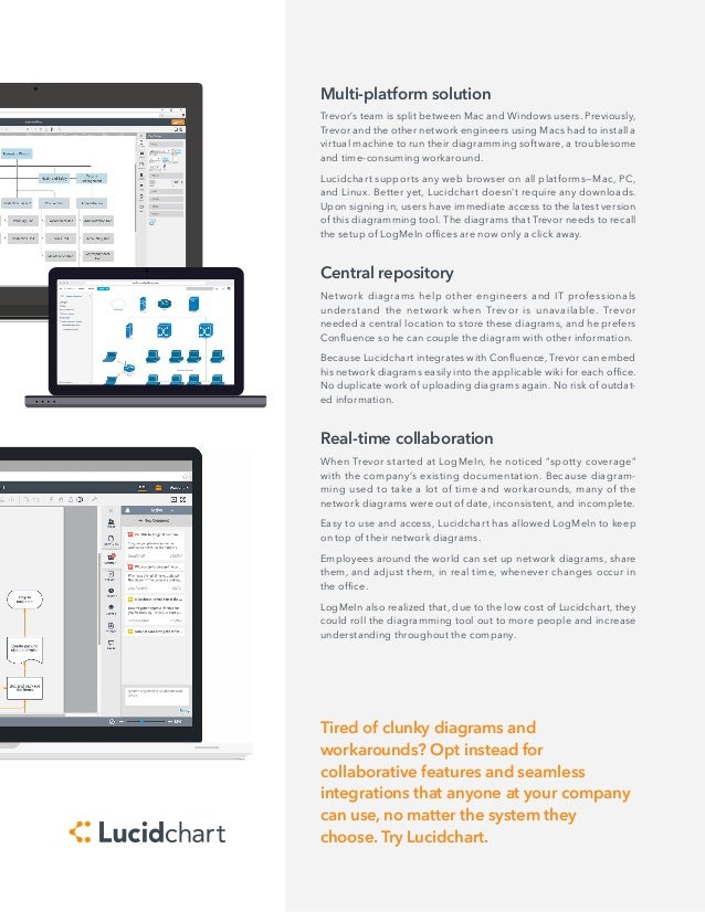 Lucidchart customer spotlight logmein customer spotlight 2 ccuart Image collections