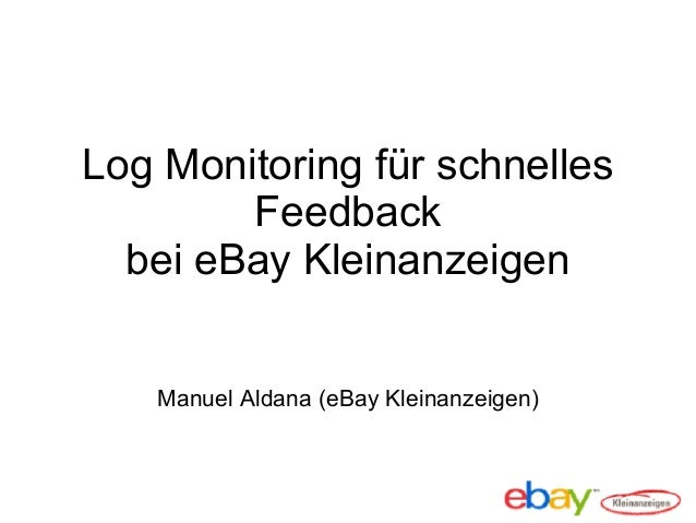 log monitoring at ebay kleinanzeigen april 2013. Black Bedroom Furniture Sets. Home Design Ideas