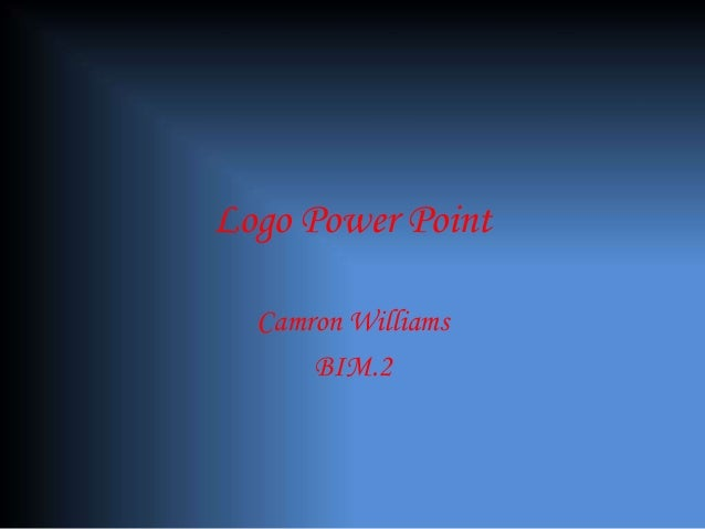 Logo Power Point Camron Williams BIM.2