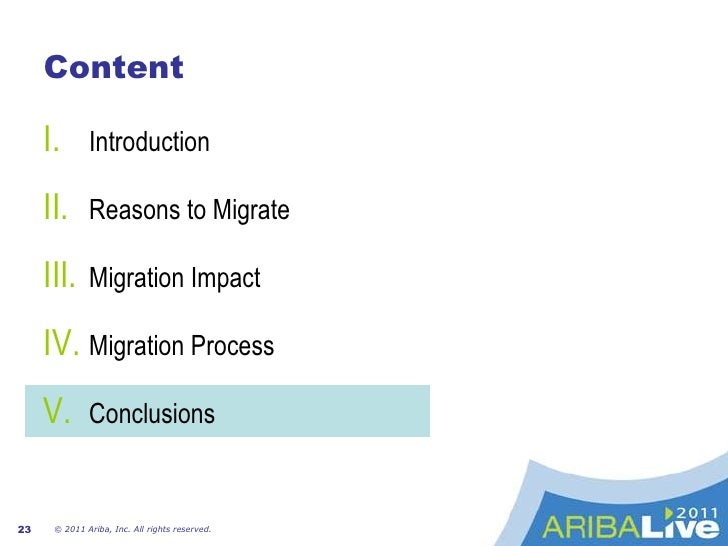 Migration ImpactTechnical Impact<br />Key operative aspects impacted by the migration:<br />It was needed to enhance the h...