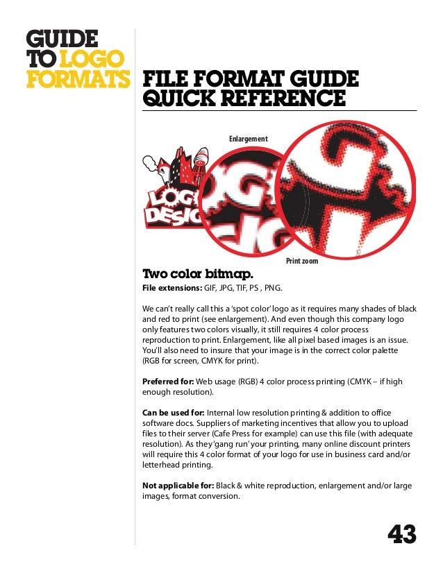 Logo Design File Formats A Guide
