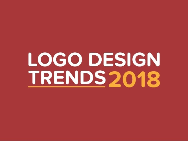 Logo Design Trends: Logo Design Trends 2018