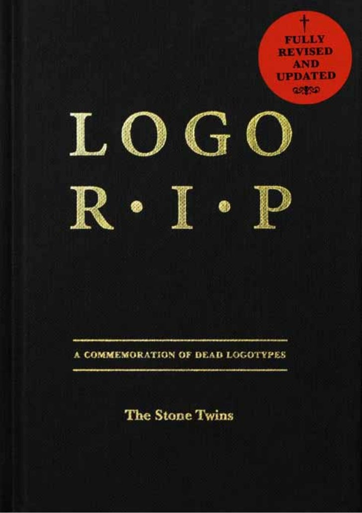 """""""Logo R.I.P. is not just a nostalgia trip,   but a serious questioning of the ephemerality of modern life.""""               ..."""