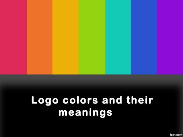 Logo colors and their    meanings