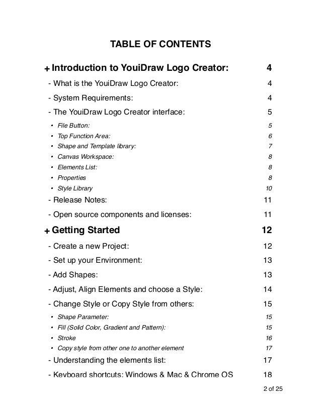Youidraw Logo Creator User Guide - online Logo Maker