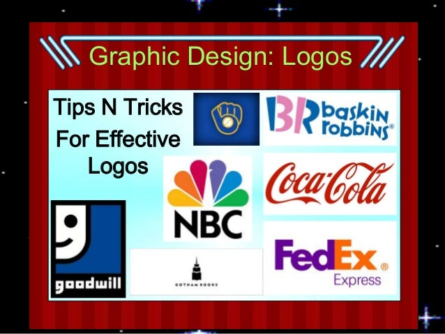 Graphic Design: Logos Tips N Tricks For Effective Logos