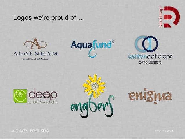 Logos we're proud of…
