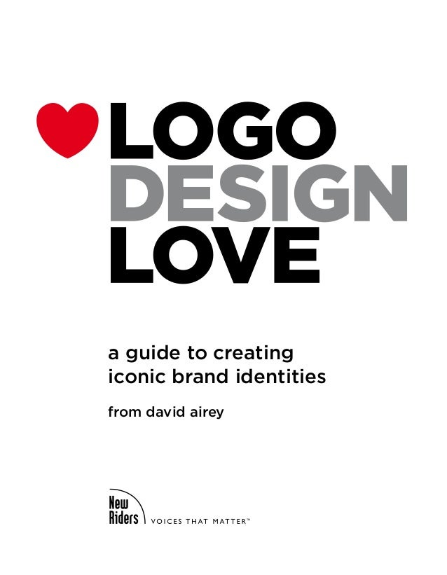 a guide to creatingiconic brand identitiesfrom david airey