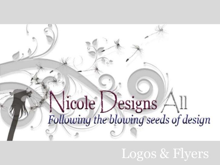 Logos & Flyers<br />
