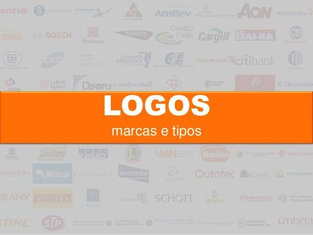 LOGOS marcas e tipos