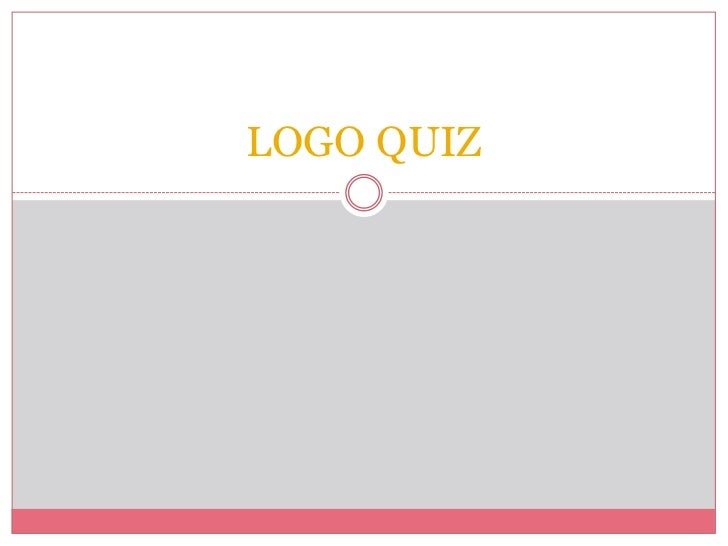 logo quiz questions and answers ppt