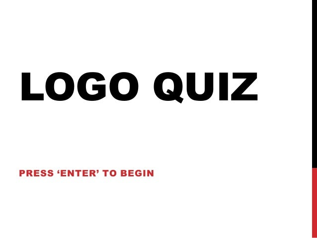 Unit 7.3: Starter Logo Quiz