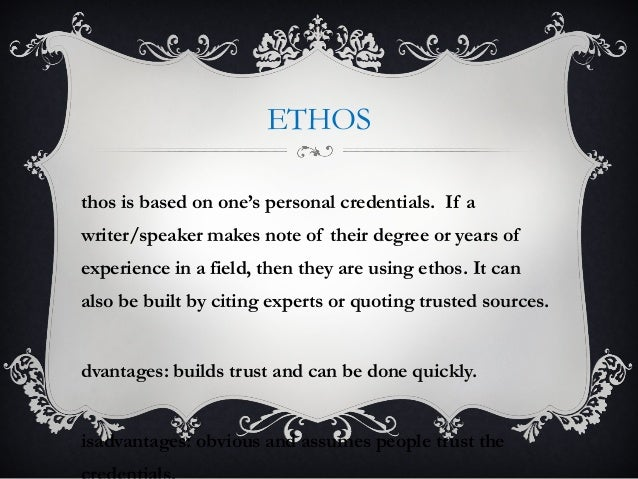 ethos logos pathos paper on silent spring Can anybody help me i need a thesis statement the influence of her book silent spring led can someone put ethos logos and pathos in my essay.