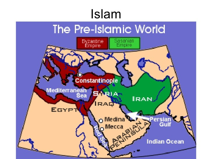 Islam• Arabia in the 7th c                          121