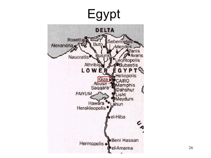 Egypt• Map of Egypt                 26