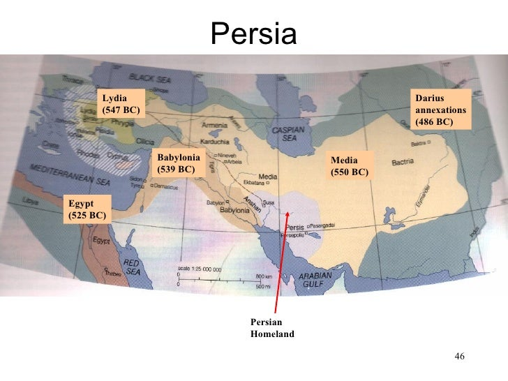 Persia• Map of Persia            Lydia                                          Darius            (547 BC)                ...