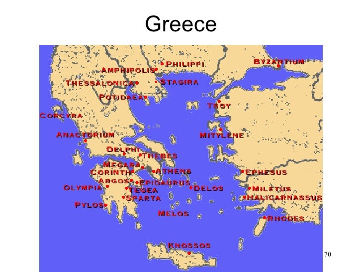 Greece• Map of Greece                  70