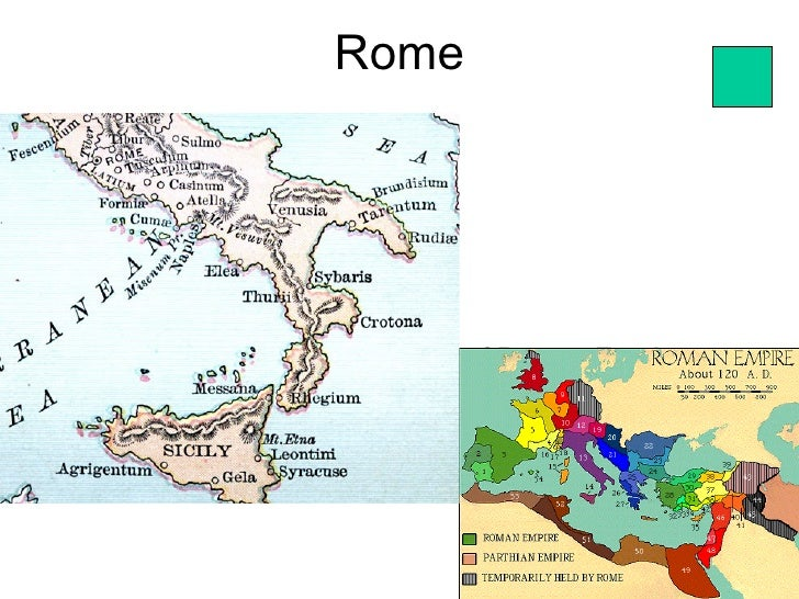 Rome • Map of Roman Empire                         80