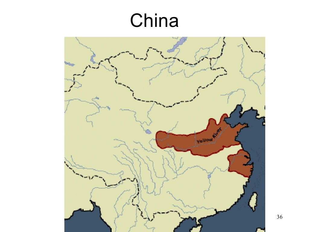 Yellow River World Map