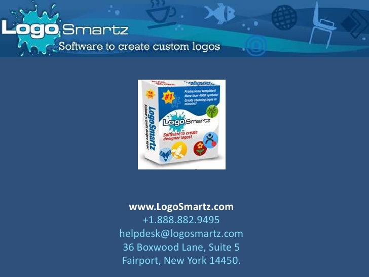Logo Smartz Logo Maker Software