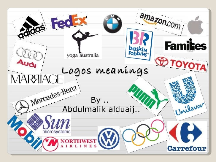 Logos meanings By ..  Abdulmalik alduaij..
