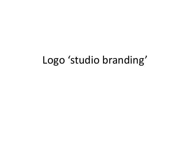 Logo 'studio branding'