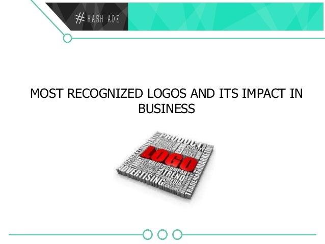 MOST RECOGNIZED LOGOS AND ITS IMPACT IN BUSINESS