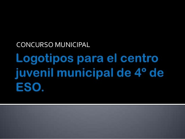 CONCURSO MUNICIPAL