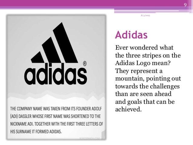 adidas logo analysis