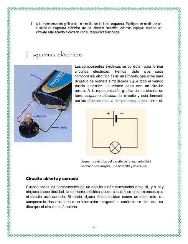Circuito Que Tenga Un Interruptor Una Pila Y Una Bombilla : Circuitos electricos ensayo