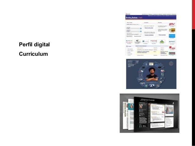 Perfil digital Currículum