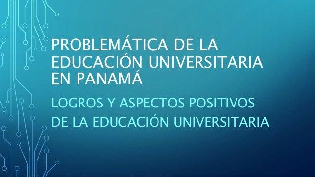 Logros Y Aspectos Positivos De La Educacion