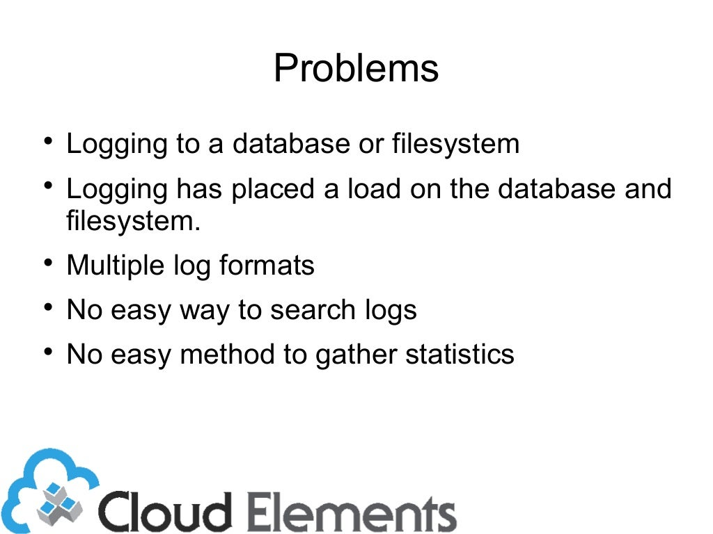 'Scalable Logging and Analytics with LogStash'