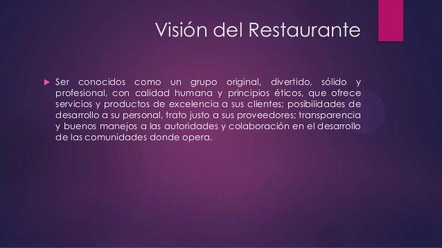 Logística de restaurante