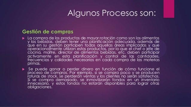 Recepción de los productos   La recepción en si necesita de personal que tenga los conocimientos adecuados para llevar a ...