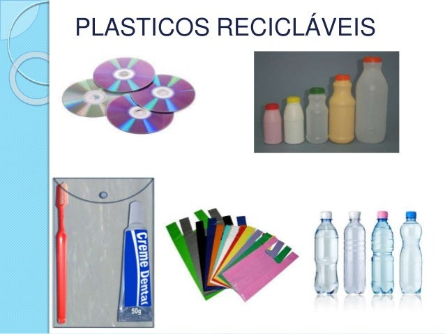 PLASTICOS RECICLÁVEIS