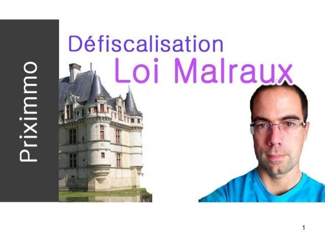 1 Loi Malraux