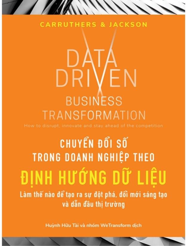 LỜI GIỚI THIỆU Chúng ta vẫn cảm thấy rằng đây là thời kỳ bình minh của dữ liệu, vì thế có những ý kiến trái chiều về vấn đ...