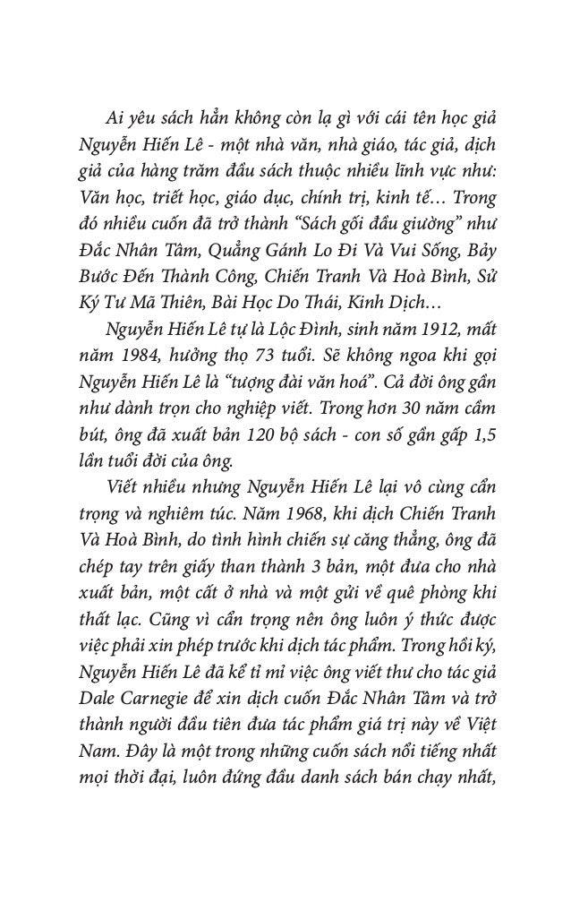 Ai yêu sách hẳn không còn lạ gì với cái tên học giả Nguyễn Hiến Lê - một nhà văn, nhà giáo, tác giả, dịch giả của hàng tră...