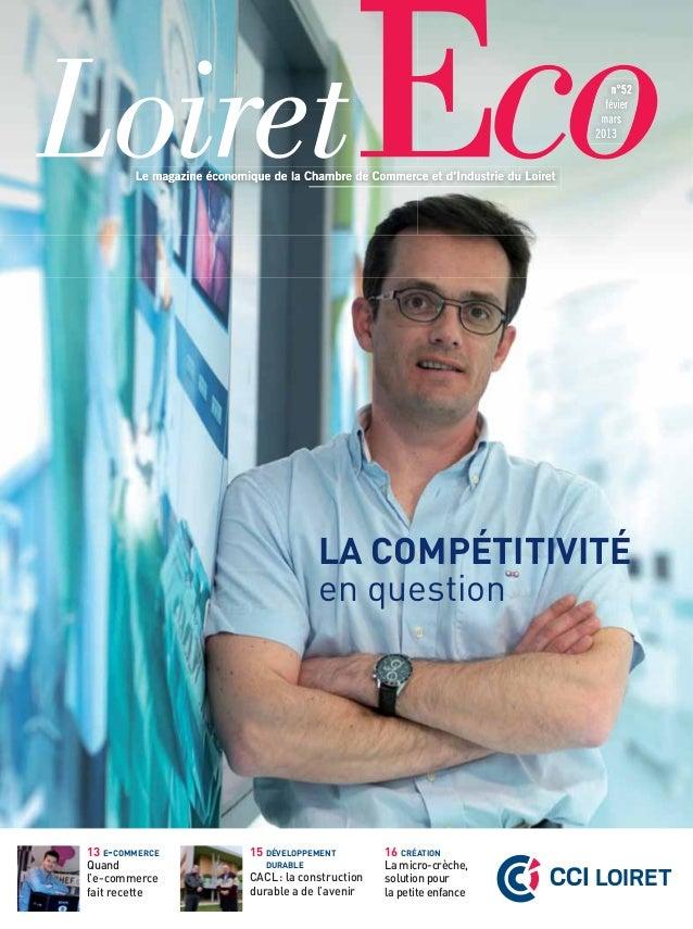 LA COMPÉTITIVITÉ                             en question13 E-COMMERCE   15 DÉVELOPPEMENT         16 CRÉATION              ...