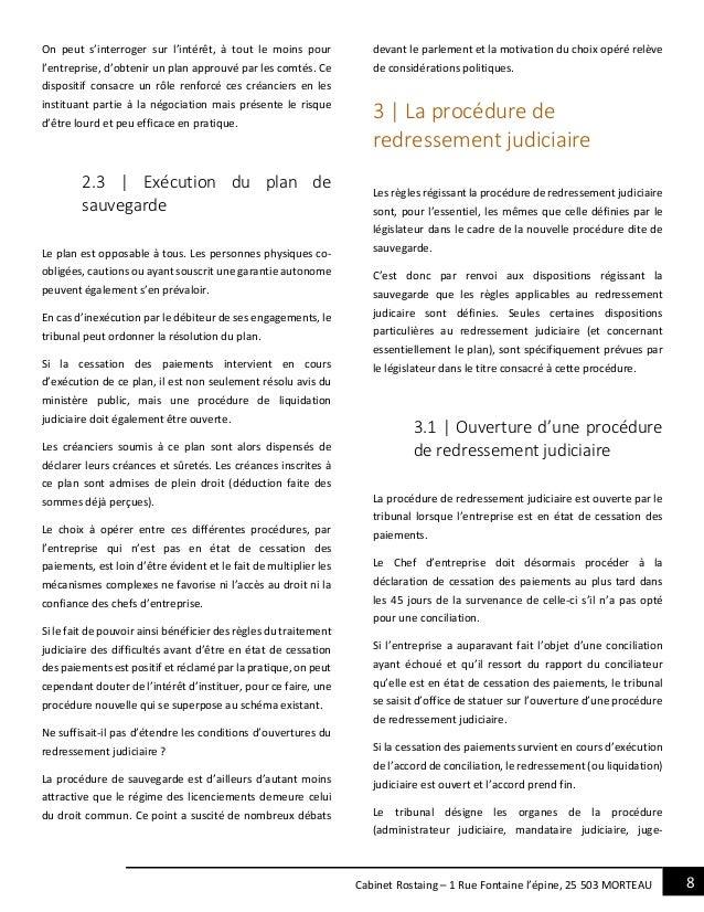 8Cabinet Rostaing – 1 Rue Fontaine l'épine, 25 503 MORTEAU On peut s'interroger sur l'intérêt, à tout le moins pour l'entr...