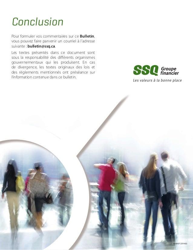 Calcul Salaire Net Quebec >> Lois sociales 2014