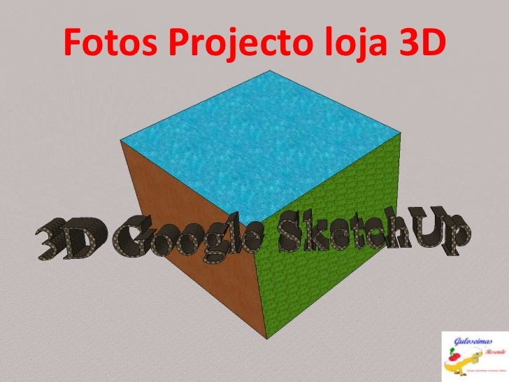 Fotos Projecto loja 3D<br />