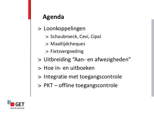 """Agenda> Loonkoppelingen    > Schaubroeck, Cevi, Cipal    > Maaltijdcheques    > Fietsvergoeding>   Uitbreiding """"Aan- en af..."""