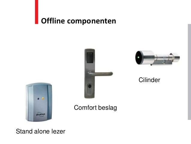Offline componenten                                     Cilinder                    Comfort beslagStand alone lezer