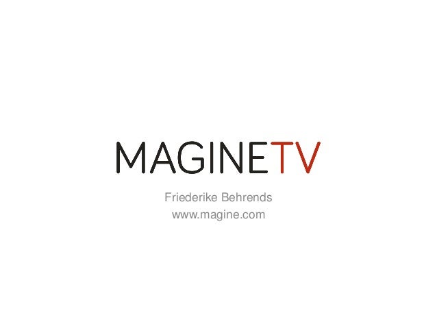 Friederike Behrends www.magine.com