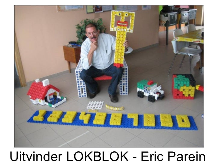 Uitvinder LOKBLOK - Eric Parein