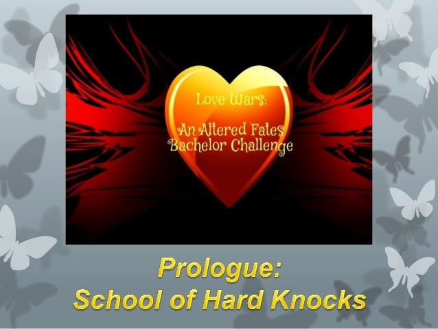 The School of Hard Knocks, usually means learning how to deal with the hardships that life brings to us. In this context i...