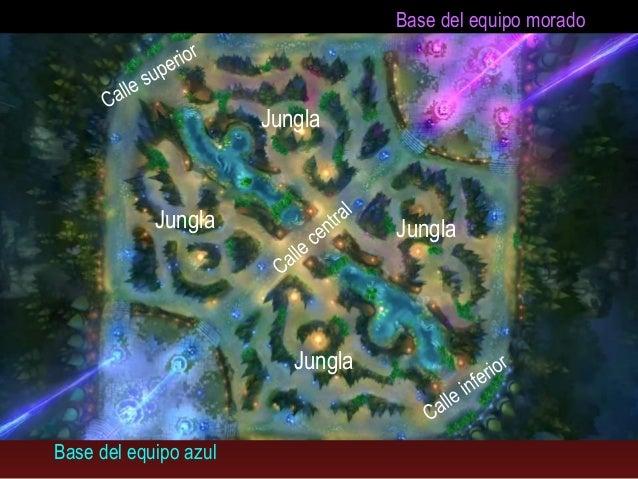 League Of Legends Mapa.Introduccion A League Of Legends